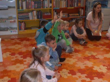 Wizyta w Bibliotece najstarszej grupy