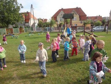 Grupa dzieci 4 letnich - październik 2012